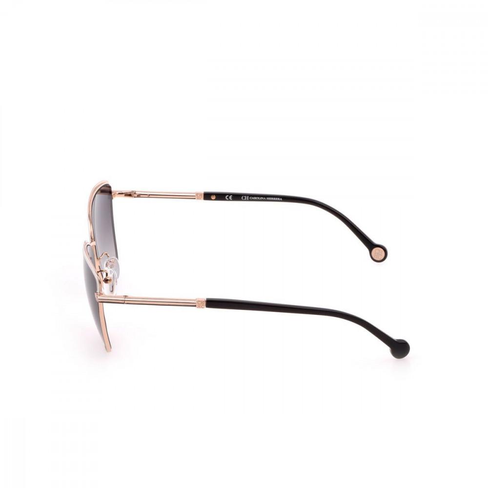 احسن نظارات كارولينا شمسية للنساء - شكل كات اي - لون ذهبي - زكي