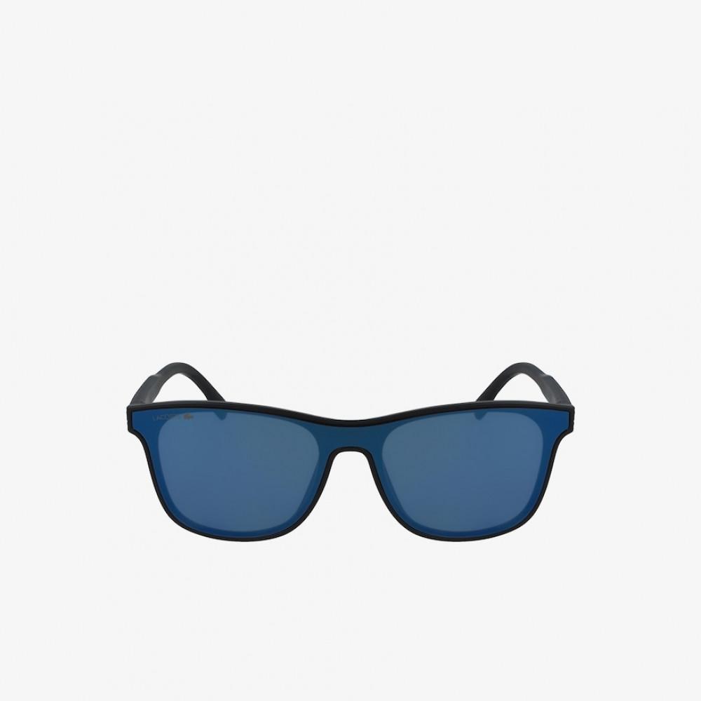 سعر نظارة لاكوست شمسيه للاطفال - شكل مستطيل - لون اسود - زكي