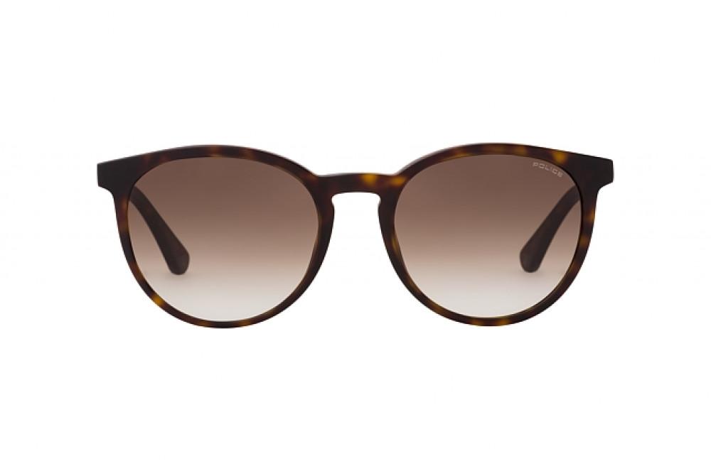 افضل نظارة بوليس شمسية رجالية - شكل دائري - لون تايقر - زكي للبصريات