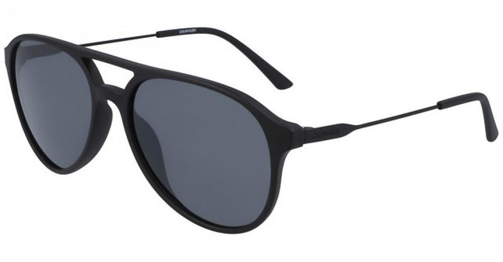 نظارات كالفن كلاين الشمسية للرجال - افياتور - لون اسود - زكي للبصريات