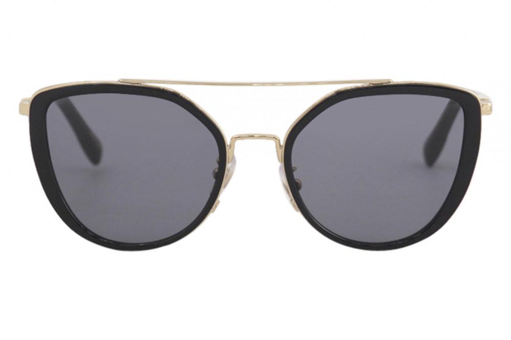 افضل نظارات شوبارد نسائية شمسية - شكل مربع - لون اسود - زكي