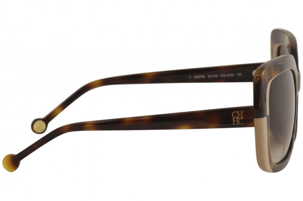 احلى نظارات كارولينا شمسية للنساء - شكل مربع - لونها تايقر - زكي