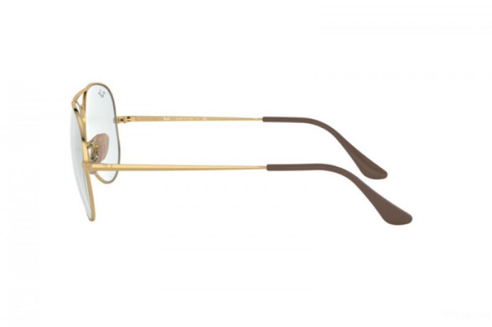 احسن نظارة ريبان شمسية للرجال - افياتور ذهبية - زكي للبصريات