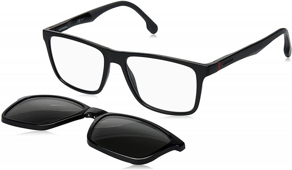 سعر نظارة كاريرا شمسية رجالية - شكل مربع - لونها أسود - زكي للبصريات