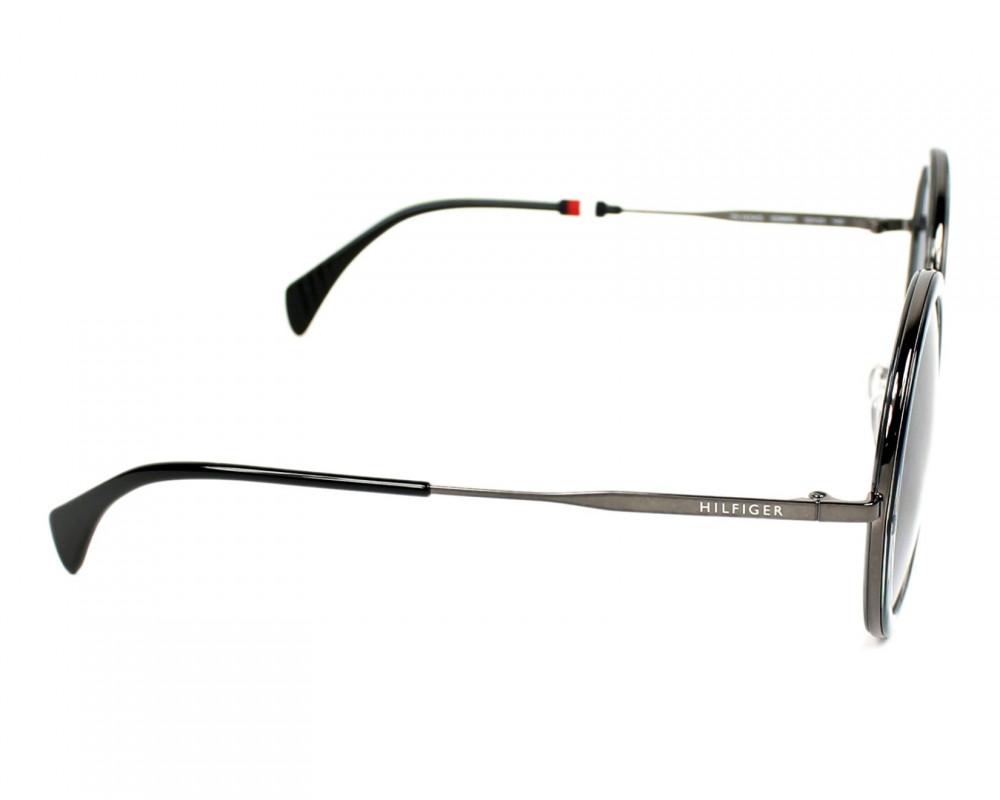 شراء نظارات تومي هيلفيغر الشمسيه للنساء - شكل دائري - لون رمادي - زكي