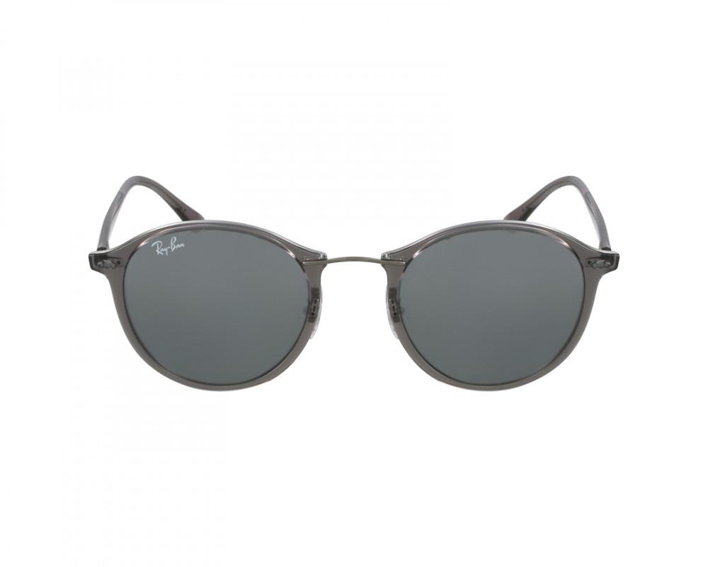 افضل نظارة ريبان شمسية للرجال -  لون بني - دائرية - زكي للبصريات