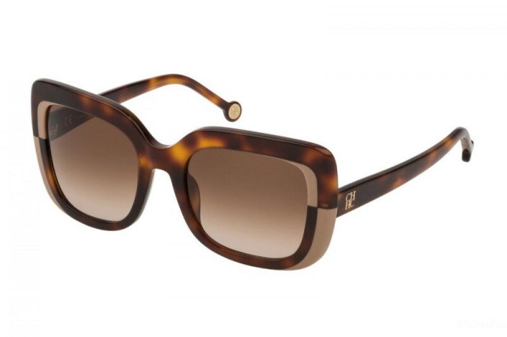 نظارات كارولينا شمسية للنساء - شكل مربع - لونها تايقر - زكي