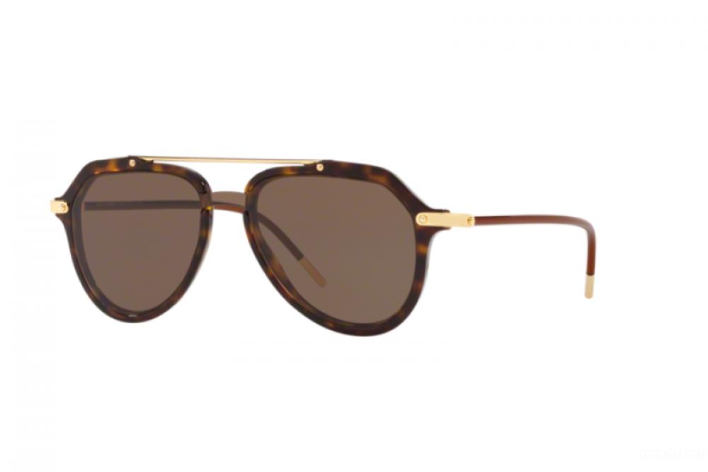 نظارة دولسي اند جابانا شمسية للرجال - افياتور - لون تايقر - زكي