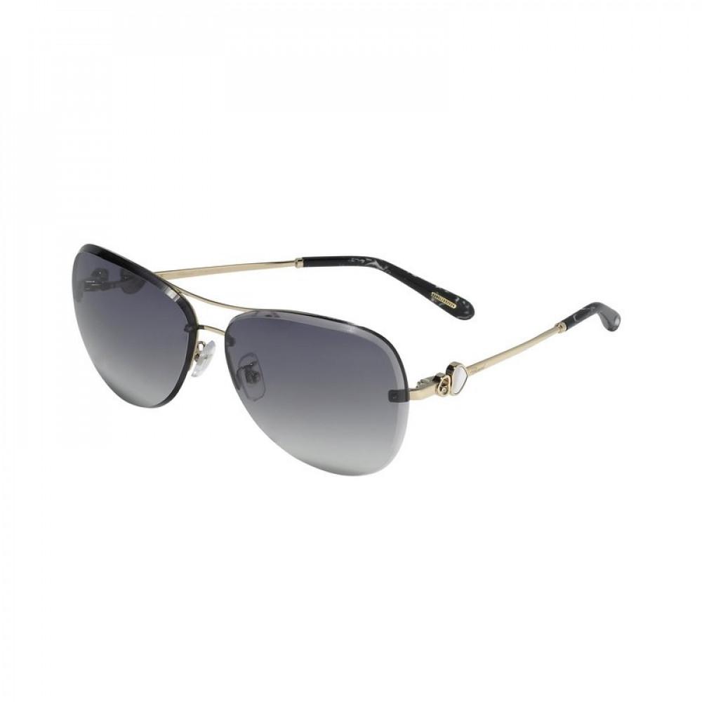 نظارات شوبارد نسائية شمسية - شكل افياتور - لون ذهبي - زكي