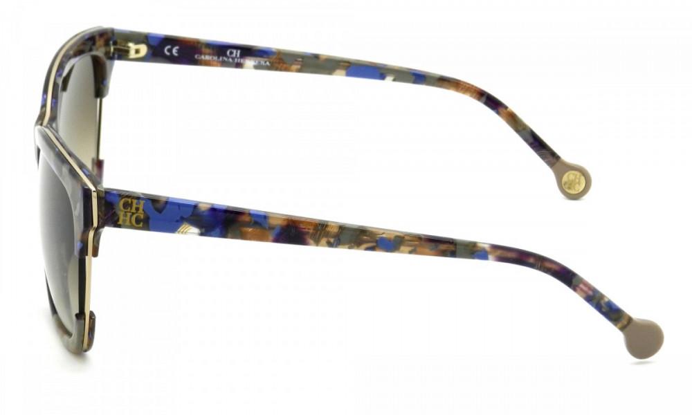 سعر نظارات كارولينا شمسية للنساء - شكل مستطيل - لون تايقر - زكي