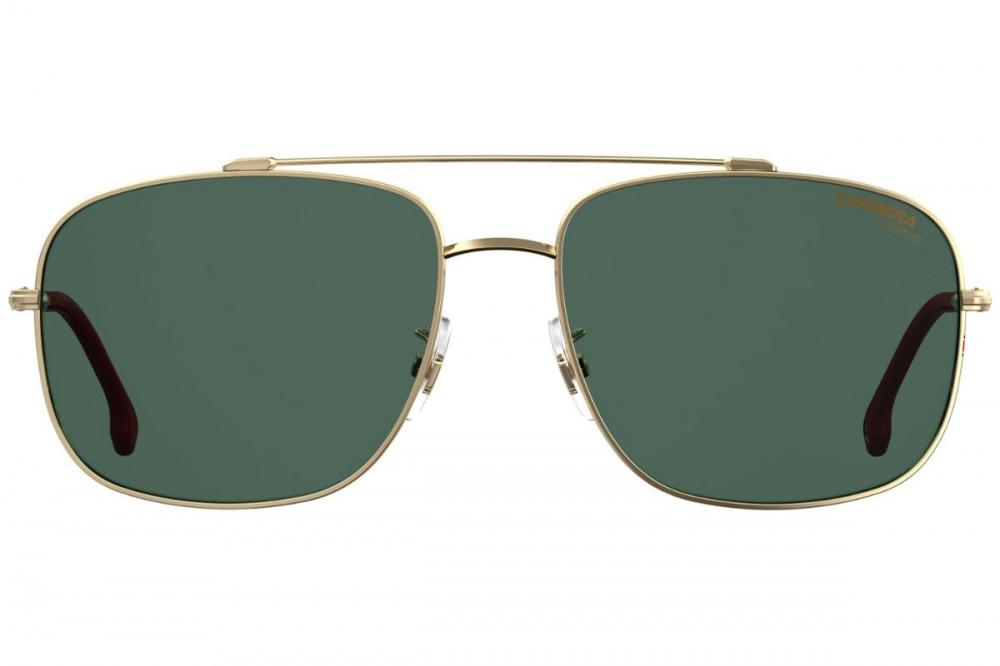افضل نظارة كاريرا شمسية رجاليه - شكل افياتور - لون ذهبي - زكي للبصريات