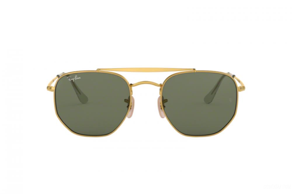 افضل نظارة ريبان شمسية للرجال والنساء - لون فضي - مربعة الشكل - زكي