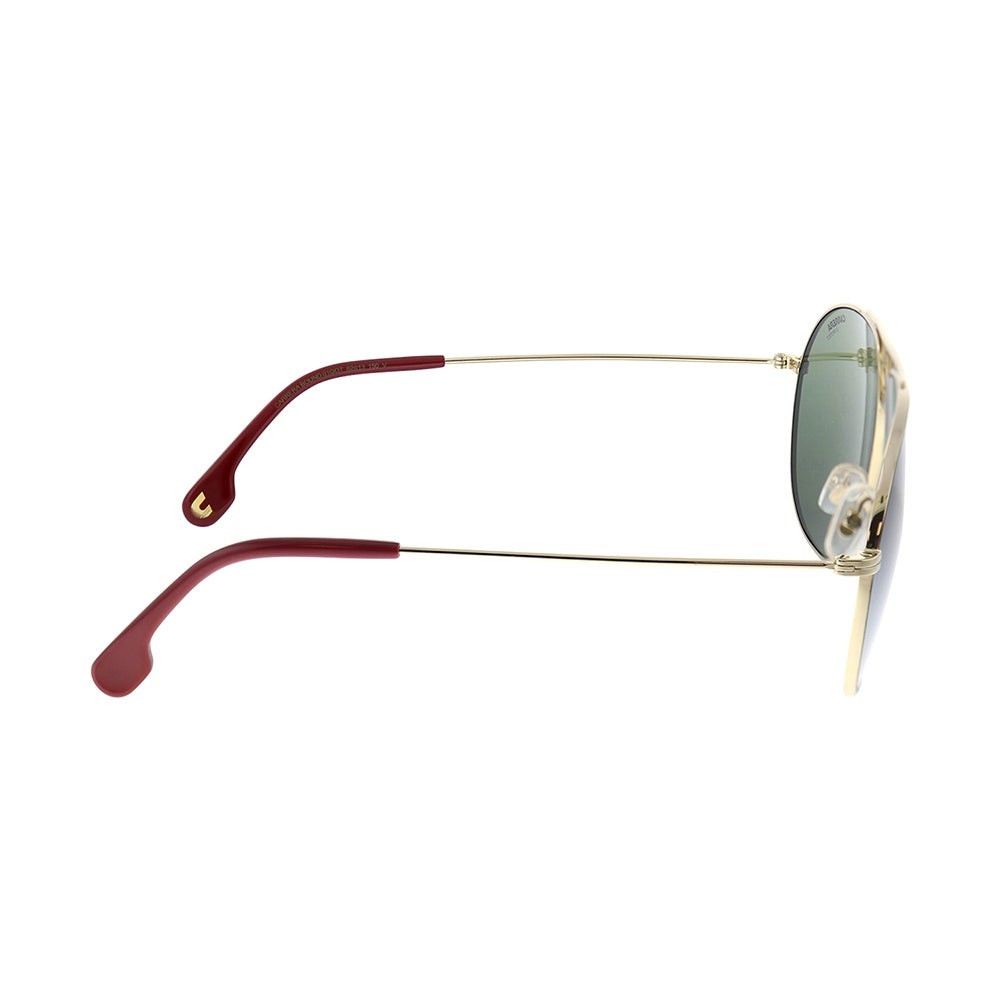 نظارة كاريرا شمسية رجالية - شكل افياتور - لونها ذهبي - زكي للبصريات