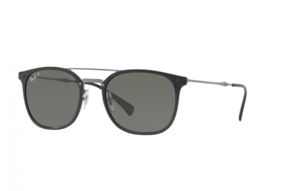 نظارة ريبان شمسية للرجال - لون اسود - زكي للبصريات