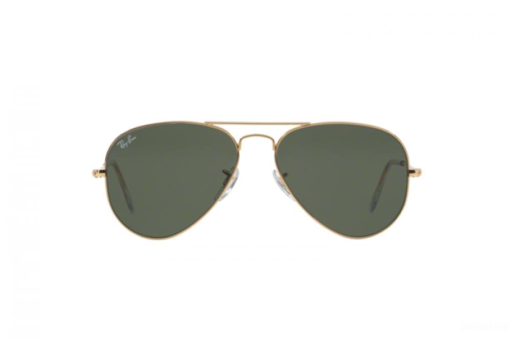 افضل نظارة ريبان شمسية رجالي ونسائي - افياتور - ذهبية - زكي للبصريات
