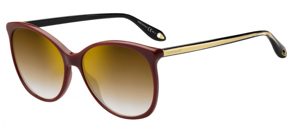 نظارات جفنشي الشمسية للنساء - شكل كات أي - لون عودي - زكي للبصريات