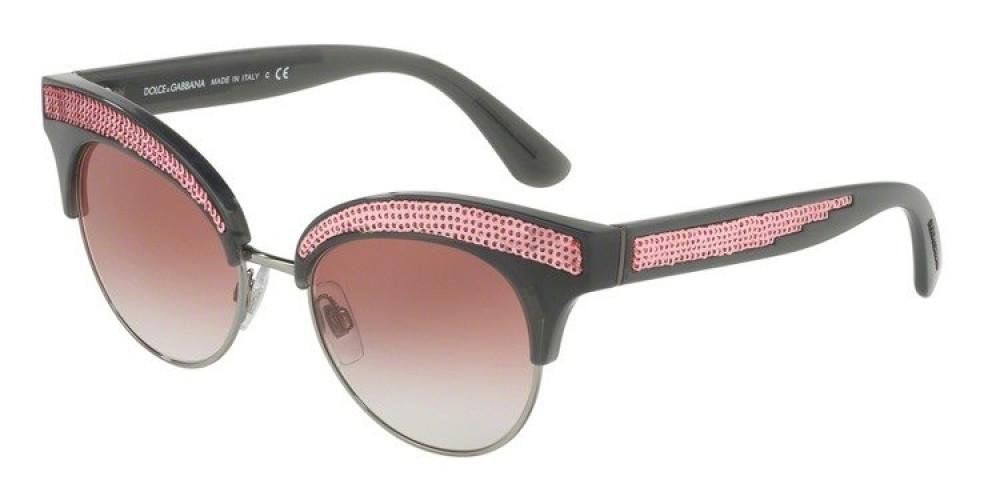 نظارة دولسي اند جابانا شمسية للنساء - شكل كات أي - لون وردي - زكي