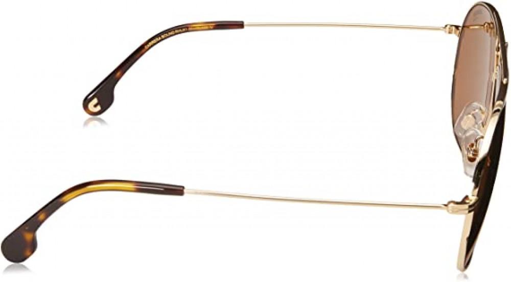 شراء نظارة كاريرا شمسية للرجال - شكل افياتور - لون ذهبي - زكي للبصريات