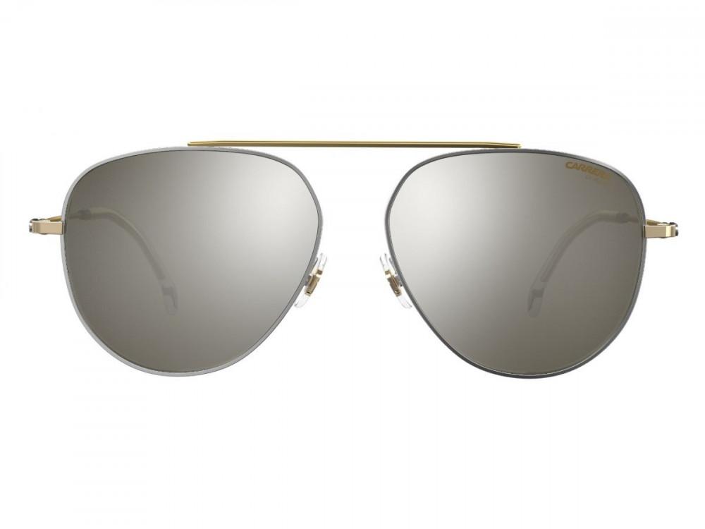 نظارة كاريرا شمسيه للرجال - شكل افياتور - لونها ذهبي - زكي للبصريات