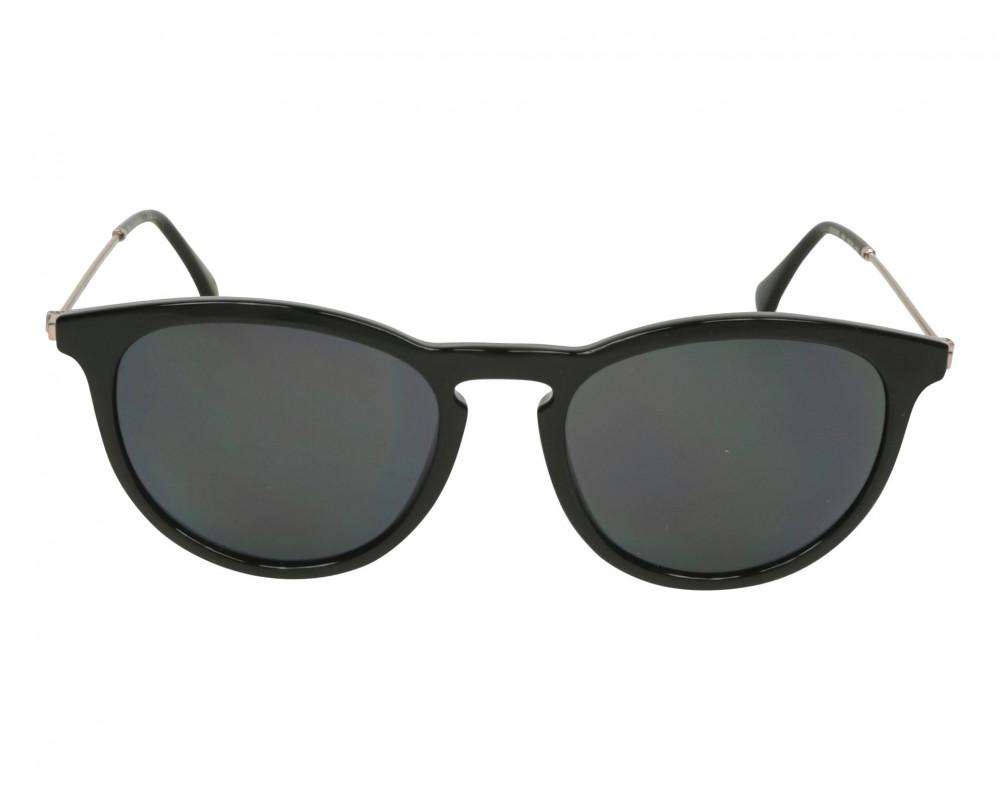 نظارات كالفن كلاين الشمسيه للجنسين - دائرية - سوداء - زكي للبصريات