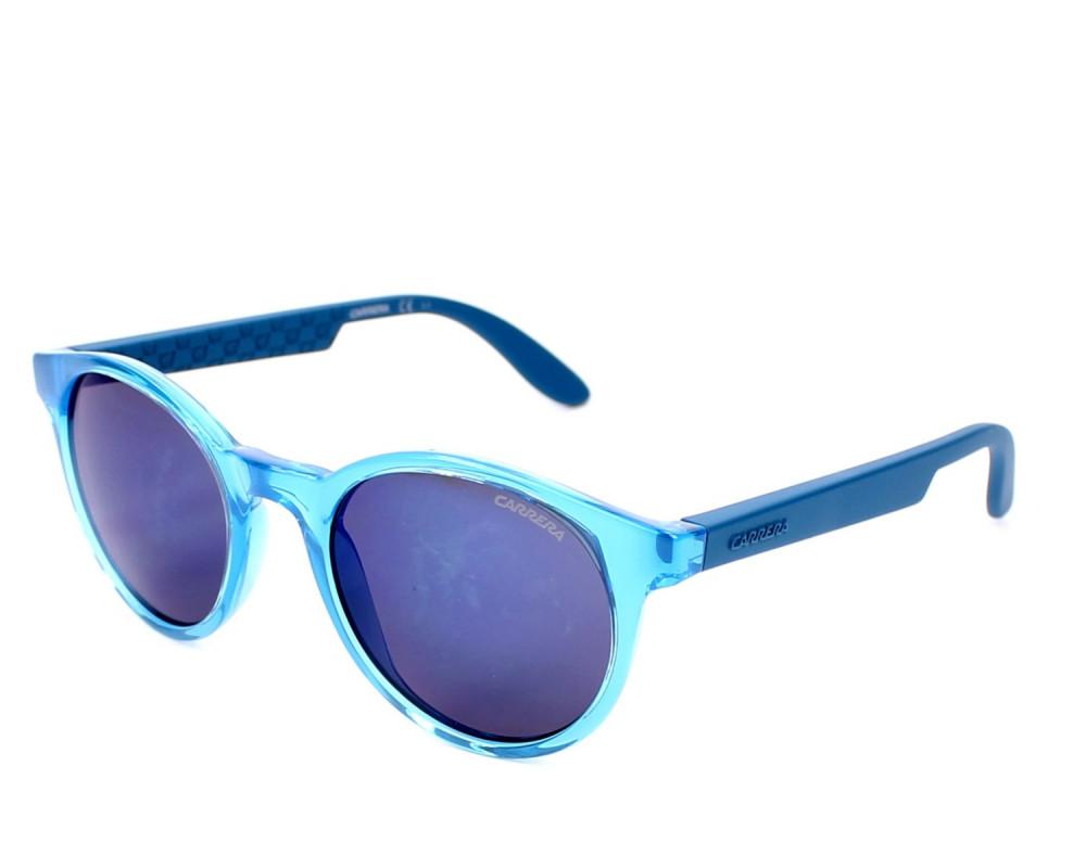 نظارة كاريرا شمسية للرجال - شكل دائري - لون ازرق - زكي للبصريات