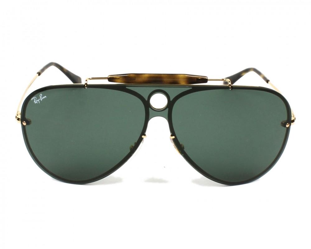 افضل نظارة ريبان شمسية للرجال - افياتور اسود - زكي للبصريات