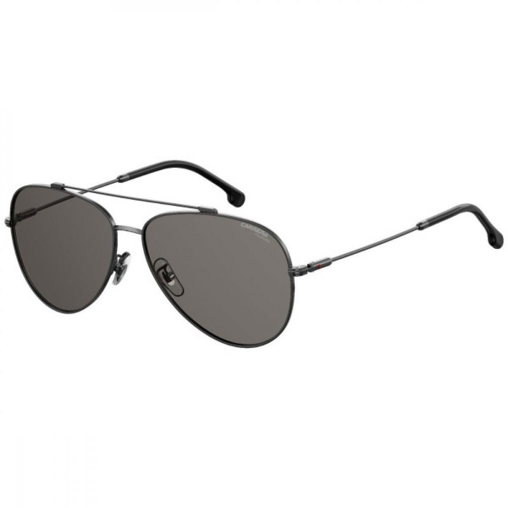 نظارة كاريرا شمسية رجاليه - شكل افياتور - لون رمادي - زكي للبصريات