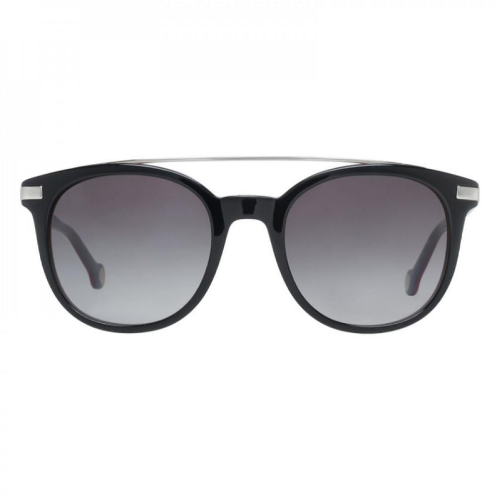 افضل نظارات كارولينا شمسية للنساء - شكل دائري - لونها أسود - زكي