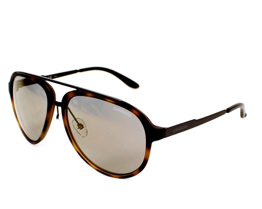 نظارة كاريرا شمسية للرجال - شكل افياتور - لون تايقر - زكي للبصريات