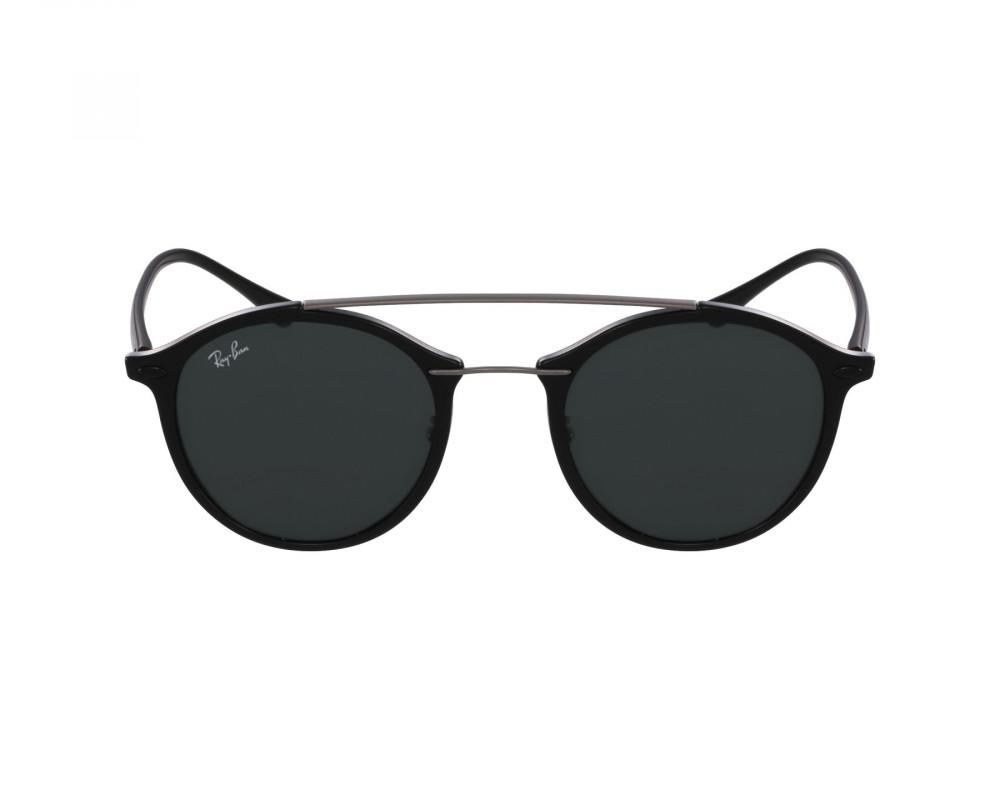 افضل نظارة ريبان شمسية للرجال - باللون أسود - زكي للبصريات