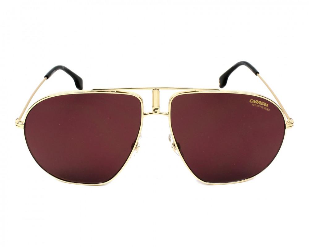 سعر نظارة كاريرا شمسية للجنسين - شكل افياتور - لون ذهبي - زكي للبصريات