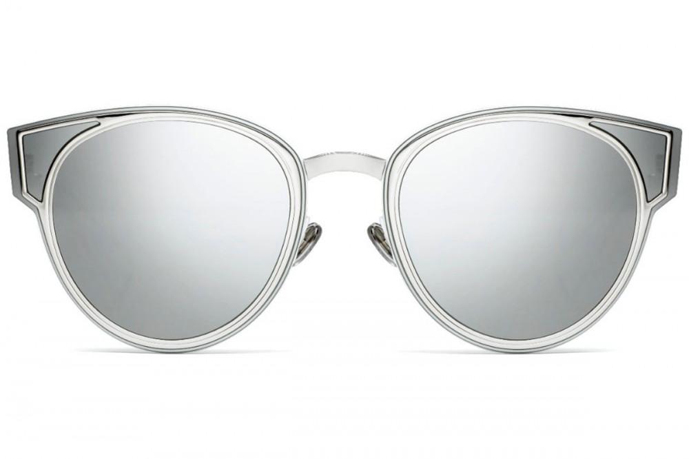 شراء نظارات شمسية نسائية ديور - شكل كات أي - لون رمادي - زكي
