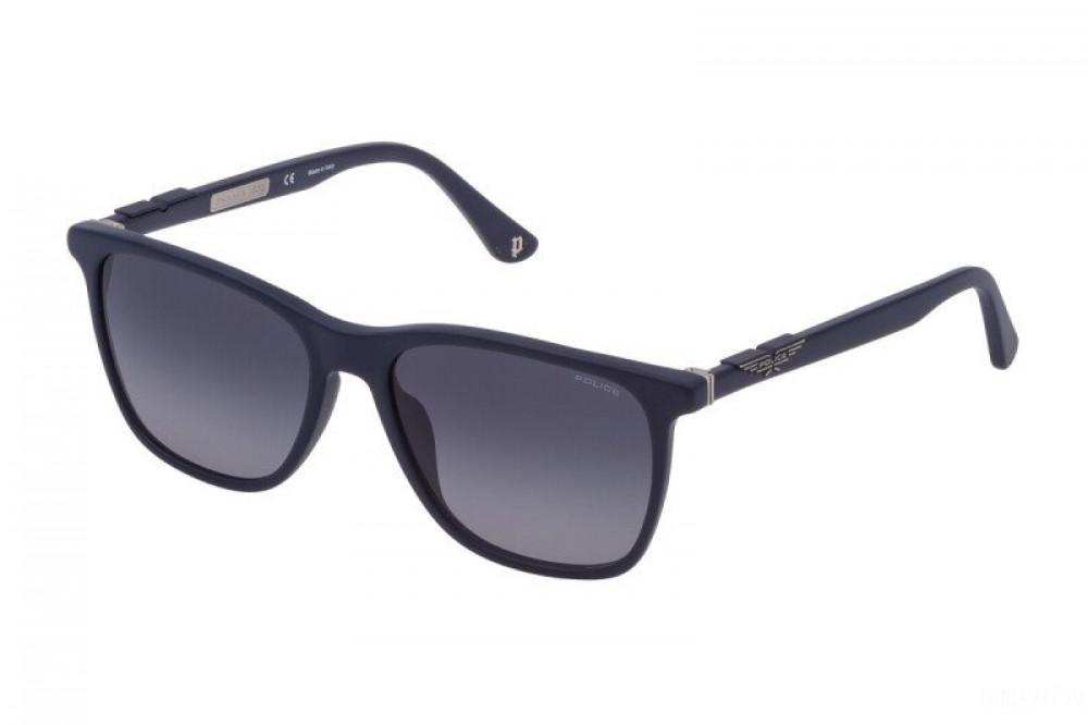 نظارة بوليس شمسيه رجالية - شكل واي فيرر - لون كحلي - زكي للبصريات