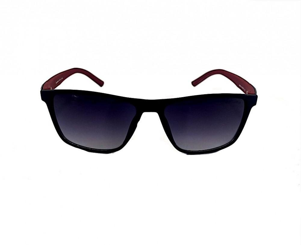 شراء نظارة لومير شمسية للرجال - شكل مستطيل - لون اسود - نظارات زكي