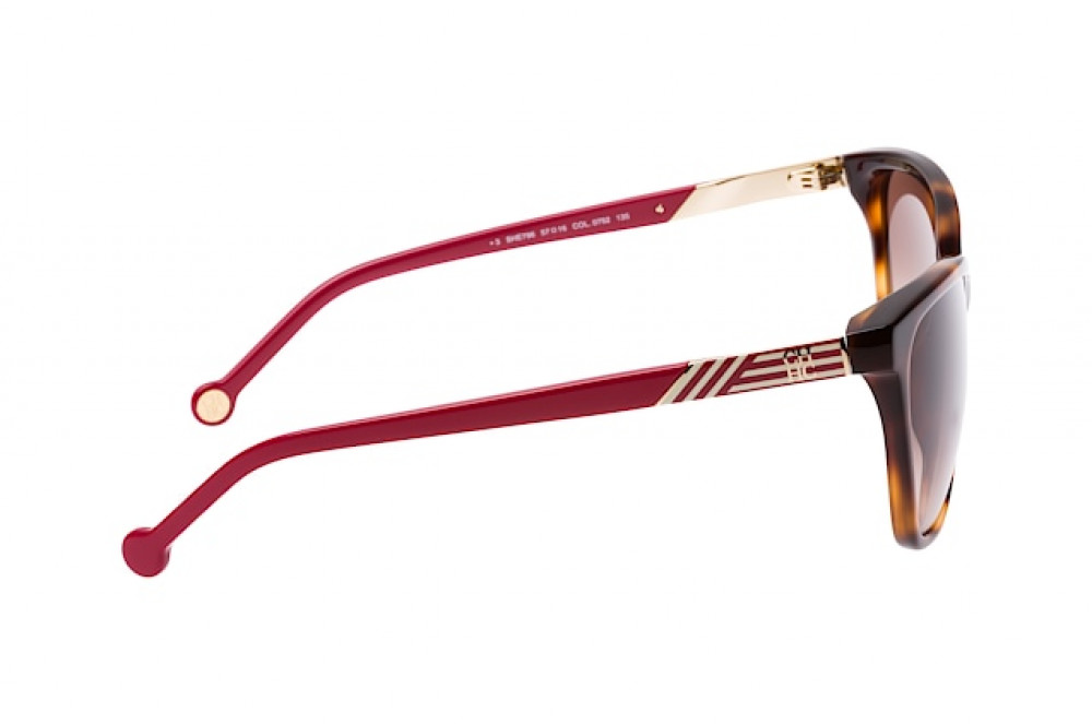احسن نظارات كارولينا شمسية للنساء - شكل مربع - لون تايقر - زكي