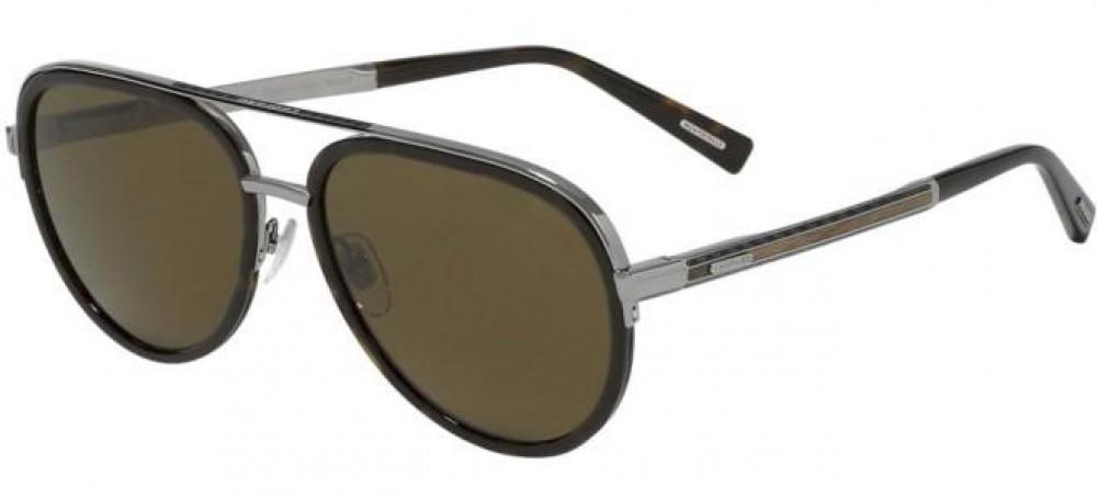 نظارة شوبارد شمسية للرجال - شكل أفياتور - لون فضي - زكي للبصريات
