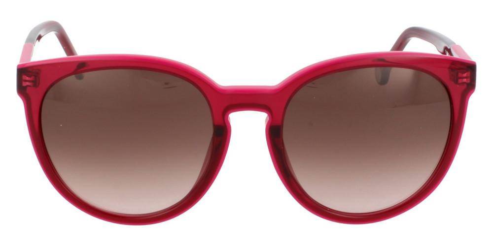 افضل نظارات كارولينا شمسية للنساء - شكل دائري - لونها عودي - زكي