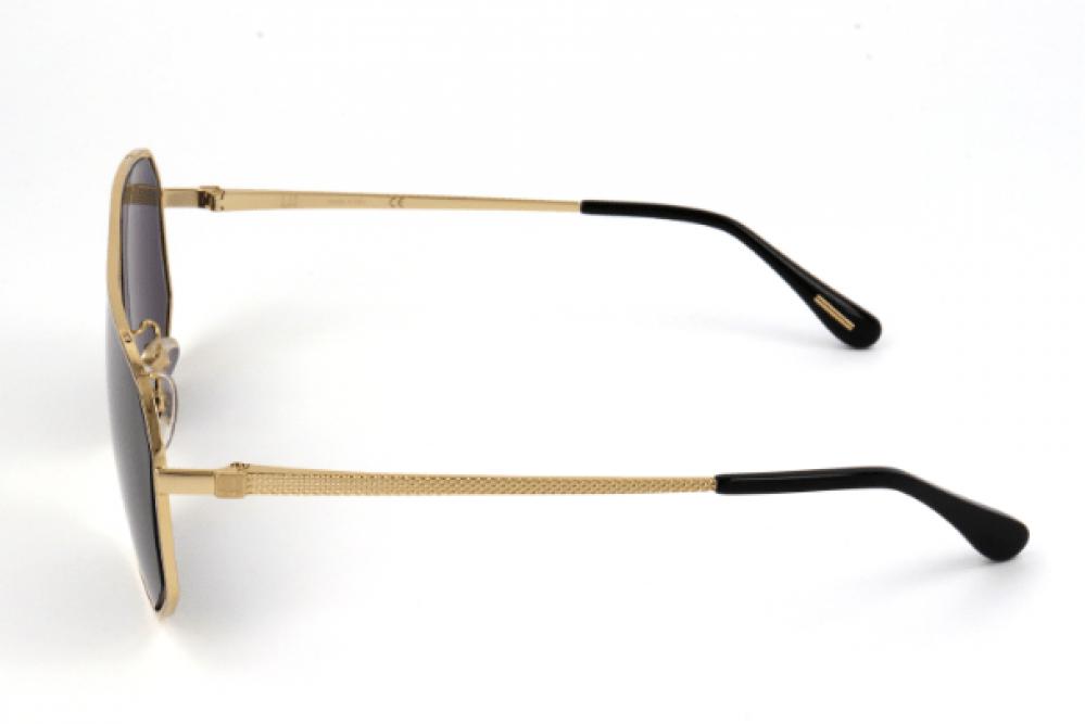 احسن نظارات دنهل شمسية للجنسين - افياتور - لون ذهبي - زكي للبصريات