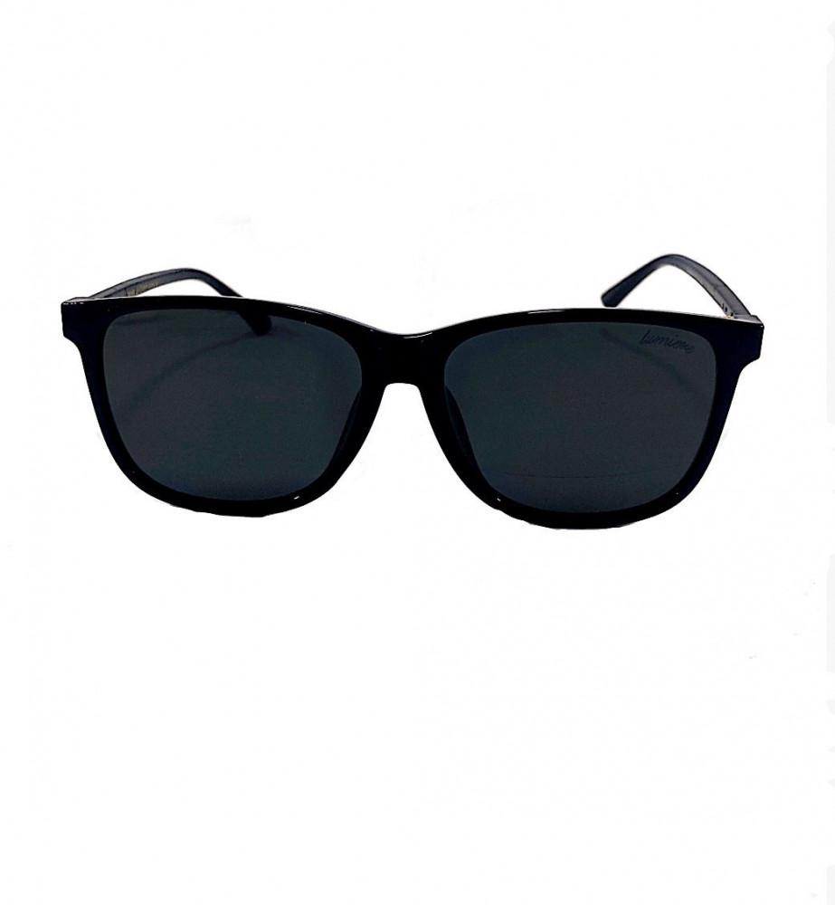 شراء نظاره لومير شمس للجنسين - شكلها مربع - لون أسود - نظارات زكي
