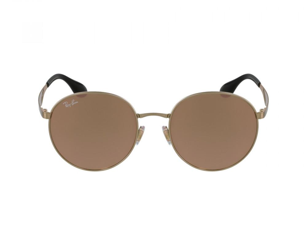 سعر نظارة ريبان شمسية للرجال والنساء - ذهبية اللون - دائرية - زكي