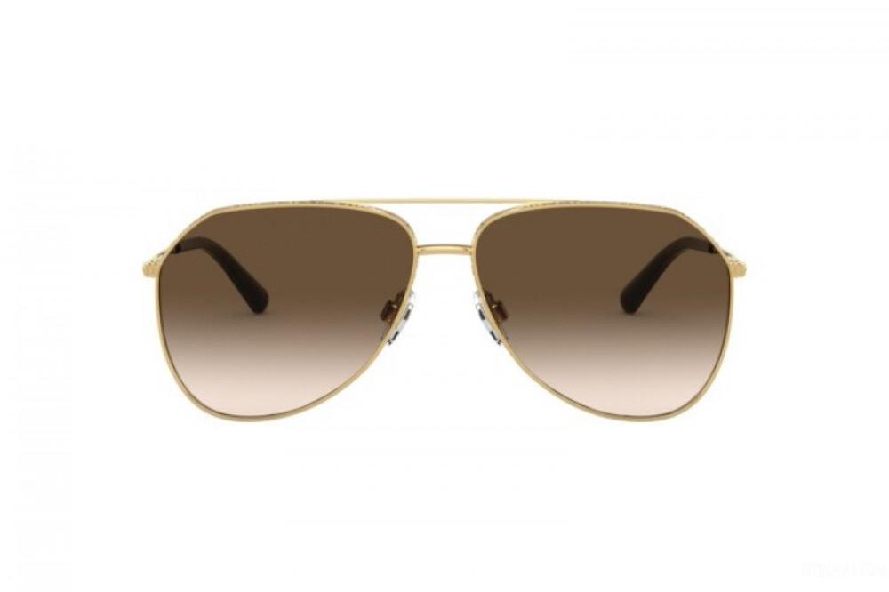 سعر نظارة دولسي اند جابانا شمسية للرجال - افياتور - لون ذهبي - زكي