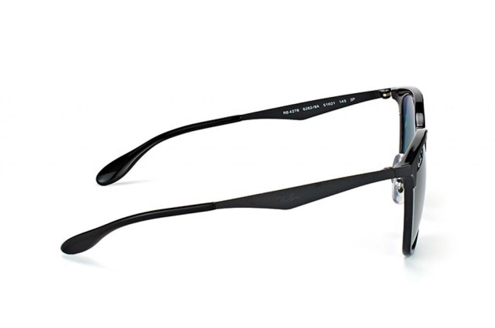 افضل نظارة ريبان شمسية للرجال - لون أسود - زكي للبصريات
