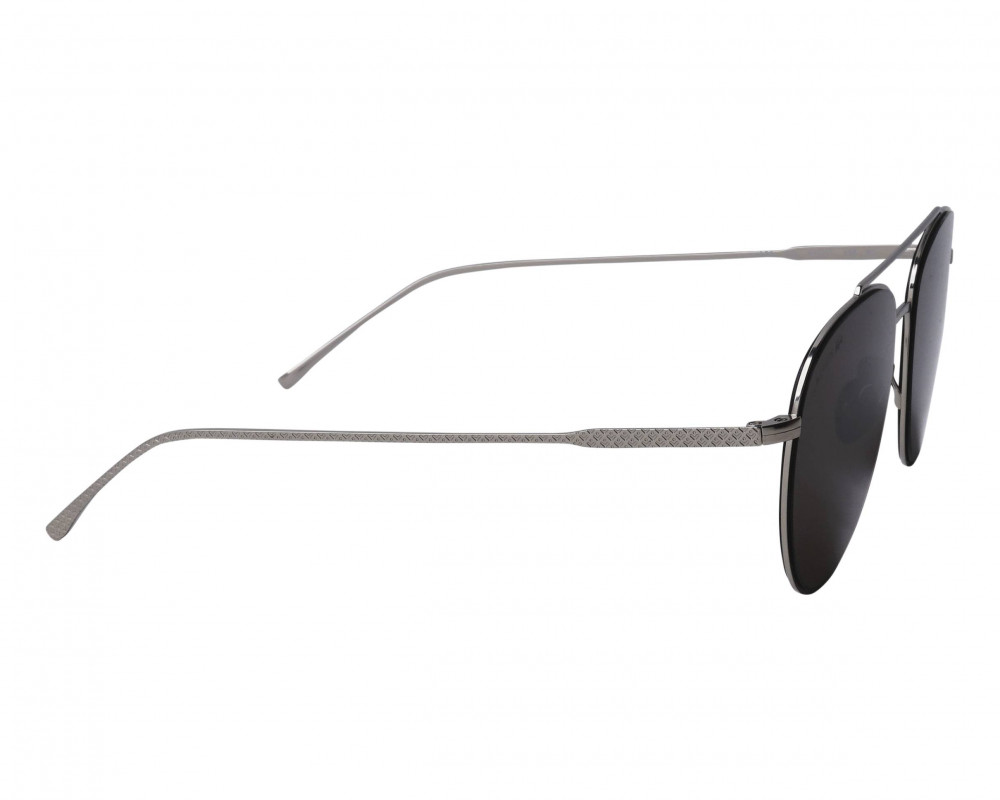 احسن نظارة لاكوست شمسية للرجال والنساء - شكل افياتور - لون فضي - زكي