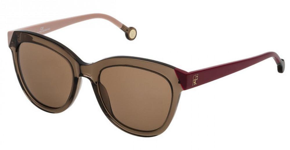 نظارات كارولينا شمسية للنساء - شكل غير منتظم - لون عسلي - زكي