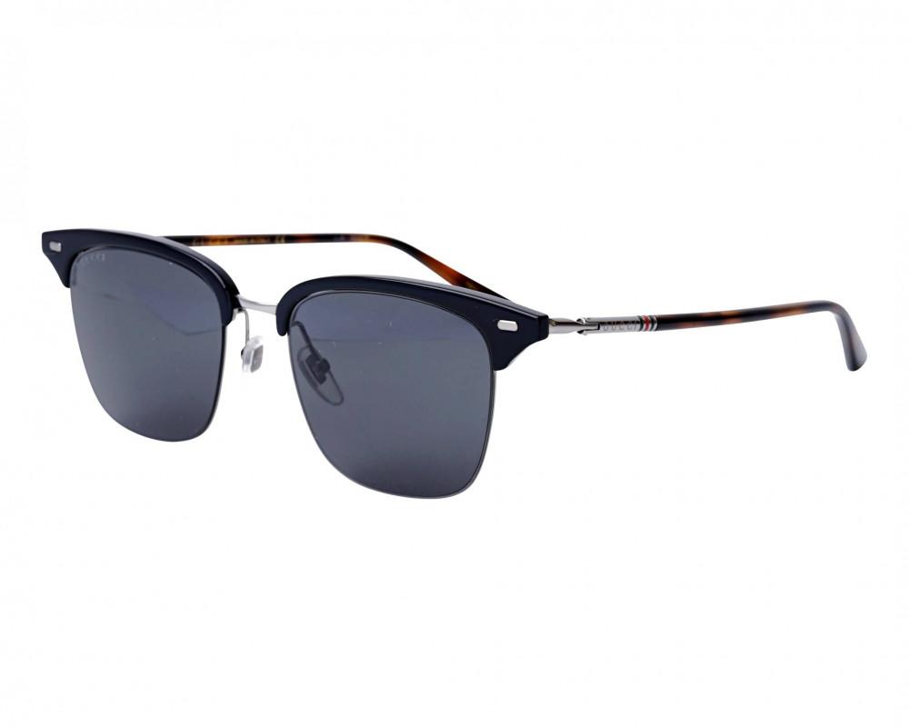 نظارة قوتشي شمسية للجنسين - شكل دائري - لون تايقر - زكي للبصريات