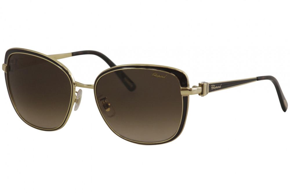 نظارات شوبارد نسائية شمسية - شكل مربع - لون بني - زكي