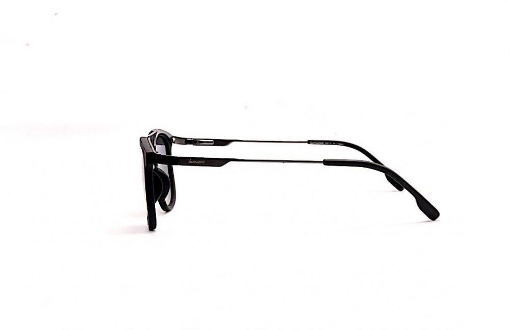اسعار نظارة لومير شمسية للرجال - شكلها واي فيرر - لون أسود - زكي