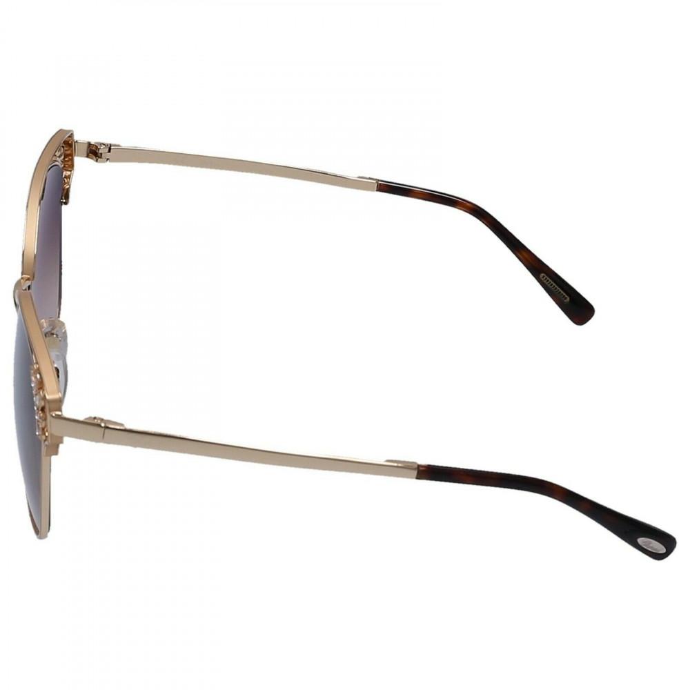 احسن نظارات شوبارد نسائية شمسية - شكل كات أي - لون بني - زكي