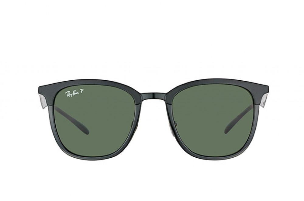 نظارة ريبان شمسية للرجال - لون أسود - زكي للبصريات