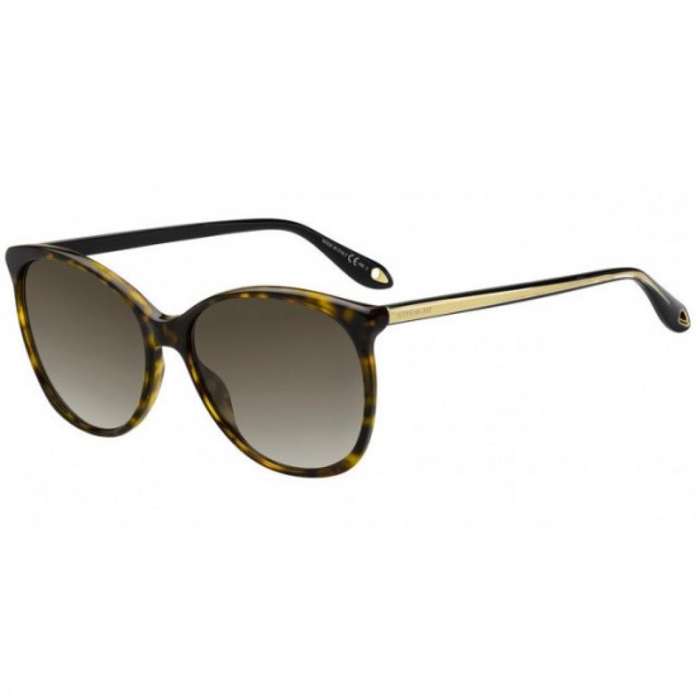نظارات جفنشي الشمسية للنساء - شكل كات أي - لون تايقر - زكي